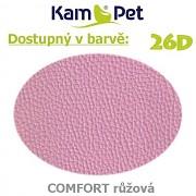 Sedací vak Triangl 120 KamPet Comfort barva 26D růžová