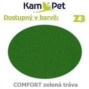 Sofa Pet´s 120 KamPet Comfort barva Z3 zelená tráva