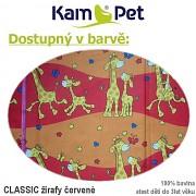 Polohovací podkova celotělová KamPet Classic 100% bavlna