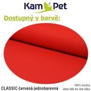 Polohovací podkova celotělová KamPet Classic červený