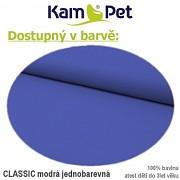 Polohovací podkova celotělová KamPet Classic nivea modrý