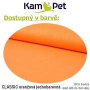 Polohovací podkova celotělová KamPet Classic oranžový
