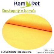 Polohovací podkova celotělová KamPet Classic žlutý