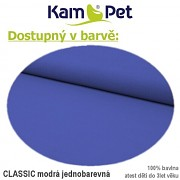 Klokanka na psa vel. 3 KamPet Classic nivea modrý