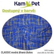 Kulatá bouda pro psa vel. 2 KamPet Classic 100% bavlna