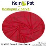Kulatá bouda pro psa vel. 3 KamPet Classic 100% bavlna