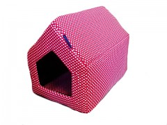 Sedlová bouda pro pejska vel. 1 KamPet Classic 100% bavlna