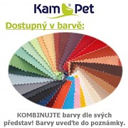 Sedací vak Relax 180 KamPet Nylon kombinace barev