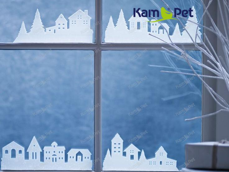 Sníh ve spreji VELKÝ vánoční dekorace