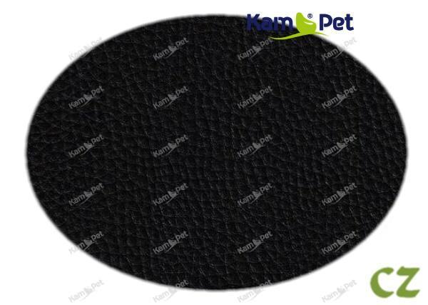 Látka koženka černá CZ