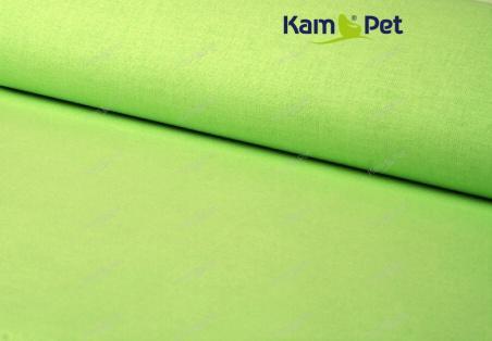 Látka bavlna jednobarevná zelená limetka