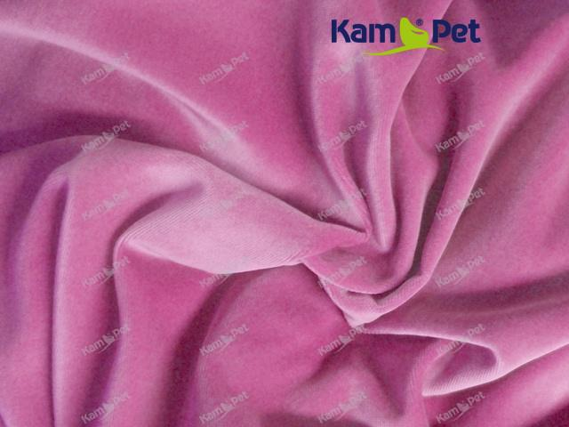 Látka bavlněný samet růžový