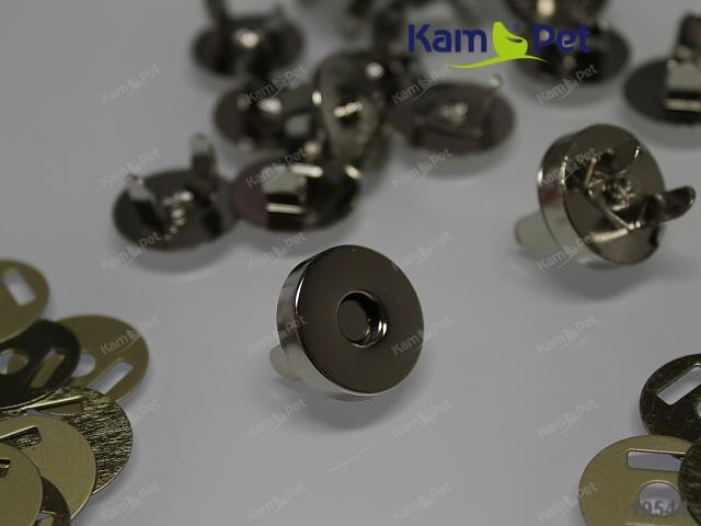 Magnetické zapínání 18mm, á 1ks