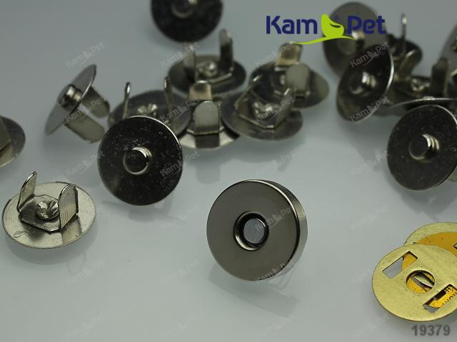 Magnetické zapínání 14mm, á 1ks