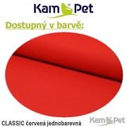 Polohovací lehátko č. 1 KamPet Classic červený