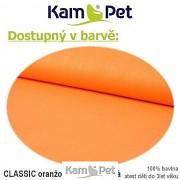 Polohovací lehátko č. 2 KamPet Classic oranžový