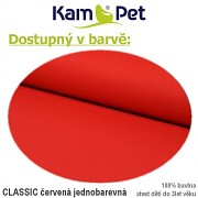 Sedací vak KamPet Sprite 60 Classic červený