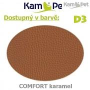 Sedací vak Beanbag 90 KamPet Comfort barva D3 karamel