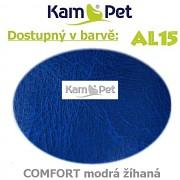 Sedací vak Beanbag 90 KamPet Comfort barva AL15 modrá žíhaná