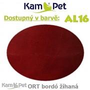 Sedací vak Beanbag 110 KamPet Comfort barva AL16 bordó žíhaná