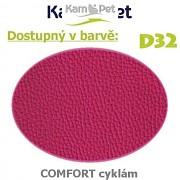 Sedací vak Beanbag 110 KamPet Comfort barva D32 cyklám