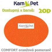 Sedací vak Beanbag 110 KamPet Comfort barva 20D oranžová