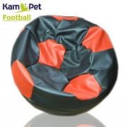 Sedací vak KamPet Football 90 COMFORT černočervený