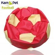 Sedací vak KamPet Football 90 COMFORT červenožlutý