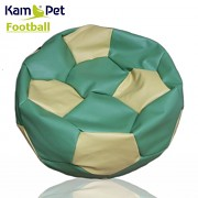 Sedací vak KamPet Football 90 COMFORT zelenožlutý