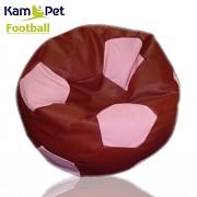 Sedací vak KamPet Football 90 COMFORT bordórůžový