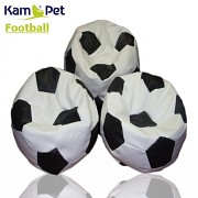 Sedací vak KamPet Football 110 COMFORT bíločerný