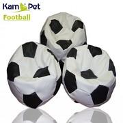 Sedací vak KamPet Football 150 COMFORT bíločerný
