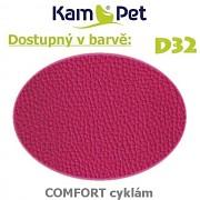Sedací vak Hruška 110 KamPet Comfort barva D32 cyklám