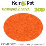 Sedací vak Hruška 110 KamPet Comfort barva 20D oranžová