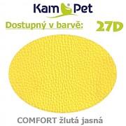Sedací vak Hruška 110 KamPet Comfort barva 27D žlutá jasná