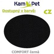 Sedací vak Hruška 110 KamPet Comfort barva CZ černá