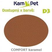 Polohovací had á 10cm KamPet Comfort barva D3 karamel