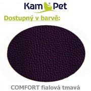 Polohovací had á 10cm KamPet Comfort barva D502 tm.fialová