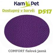 Polohovací had á 10cm KamPet Comfort barva D517 fialová jasná