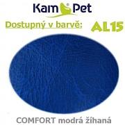 Polohovací had á 10cm KamPet Comfort barva AL15 modrá žíhaná