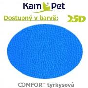 Polohovací had á 10cm KamPet Comfort barva 25D tyrkysová