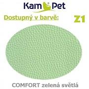 Polohovací had á 10cm KamPet Comfort barva Z1 sv.zelená