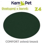 Polohovací had á 10cm KamPet Comfort barva Z4 tm.zelená