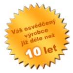 Vyrábíme vaky již 10let! Nejstarší výrobce v ČR a SR!