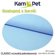 Polohovací klín 70 KamPet Classic sv.modrý