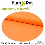 Polohovací klín 70 KamPet Classic oranžový