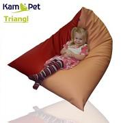 Sedací vak Triangl 120 KamPet Comfort ekokůže