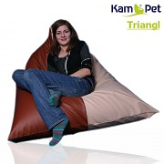 Sedací vak Triangl 140 KamPet Comfort ekokůže