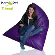 Sedací vak Triangl 170 KamPet Comfort ekokůže