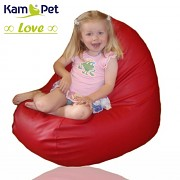 Sedací vak Love 60 KamPet Comfort ekokůže